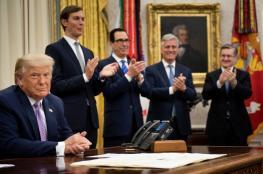 واشنطن تكذب الامارات : خطة الضم مستمرة