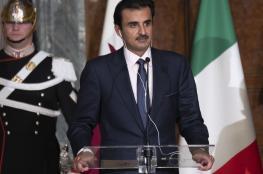 أمير قطر يكشف عن الحل الوحيد للخروج من الأزمة الخليجية
