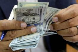 ارتفاع طفيف على سعر صرف الدولار مقابل الشيكل