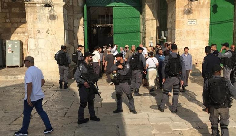 مفتي القدس يحذر من تداعيات الاجراءات الاسرائيلية في الأقصى