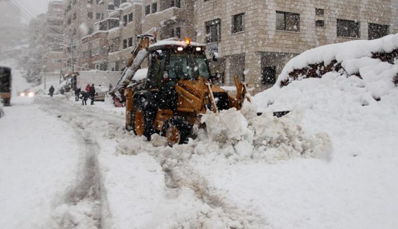 الارصاد الجوية تحسم احتمالية تساقط الثلوج على الضفة الغربية