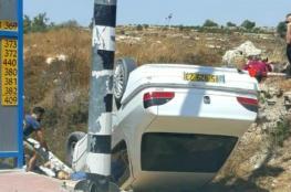 اصابة مستوطنين في عملية دهس جنوب بيت لحم