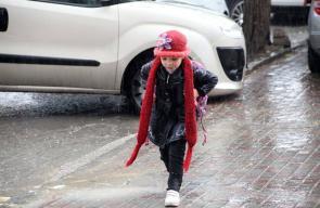 اجواء الشتاء في مدينة الخليل