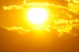 حالة الطقس: درجات الحرارة أعلى من معدلها بحدود 8 درجات