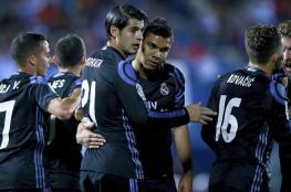 ريال مدريد يفوز على ليغانيس ويعتلي صدارة الليغا