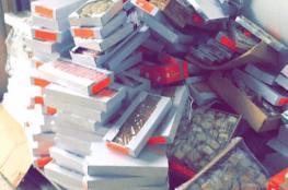 ضبط 200 كرتونة سكاكر غير صالحة للاستهلاك في رام الله