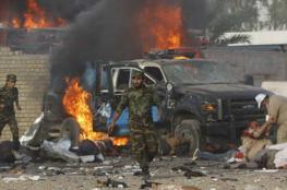 13 قتيلًا بتفجيرين انتحاريين عند نقطة تفتيش في بغداد