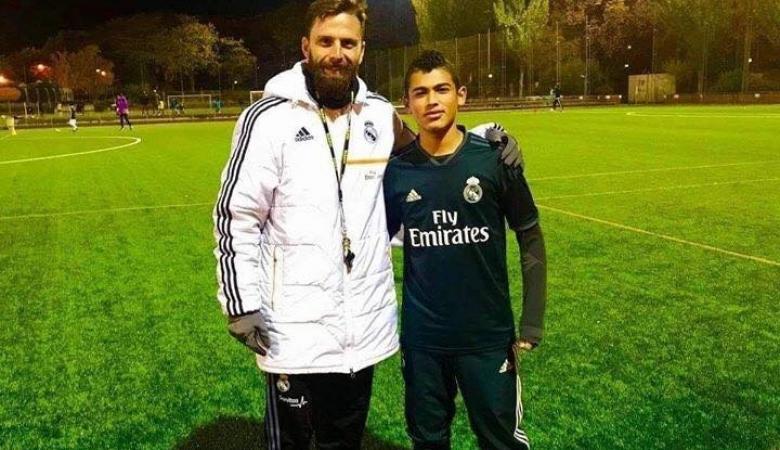 """ريال مدريد يخطف لاعب فلسطيني من اتلتيكو مدريد """"صور """""""