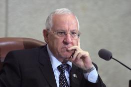 الرئيس الاسرائيلي زاعماً : سكان غزوة ليسوا اعداء اسرائيل