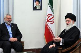 خامنئي لهنية : ايران ستواصل دعم الشعب الفلسطيني