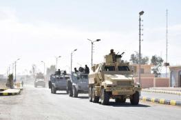 الجيش المصري يعلن قتل 10 ارهابيين في سيناء