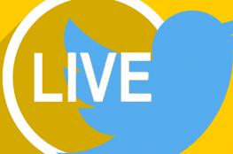 """تويتر يطلق """"البث المباشر"""" لأول مرة"""