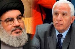 الاحمد : نحن في حركة فتح نلتقي مع حزب الله