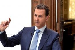 الأسد: إنجازات الجيش في درعا خطوة لإنهاء الحرب في سوريا