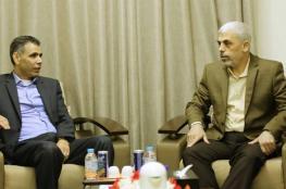 لقاء بين السنوار ومسؤول الملف الفلسطيني في المخابرات المصرية