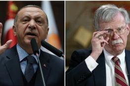 اردوغان يوجه ضربة قوية لمستشار ترامب للامن القومي : لا وقت لدي لمقابلتك