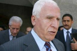 """الأحمد: """"القمة الفلسطينية المصرية"""" أكدت أن حل الدولتين هو السبيل الوحيد لتحقيق الاستقرار"""
