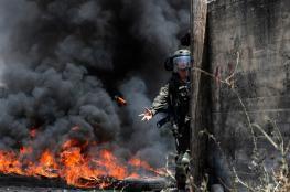 23 اصابة في مواجهات مع الاحتلال في ابو ديس