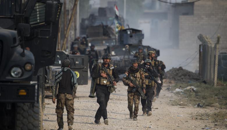 معارك عنيفة مع داعش بالأحياء الشرقية للموصل