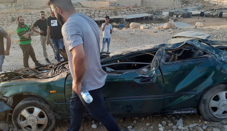 نشر تفاصيل وفاة شابين في حادث سير مروع قرب العيزرية