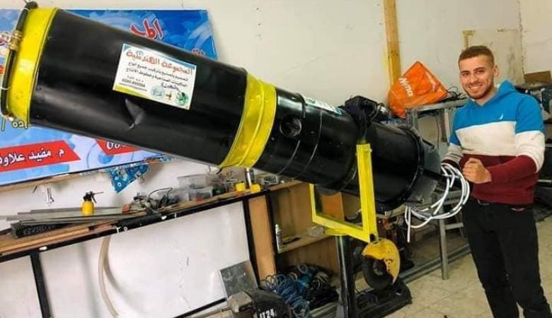 مهندسان شقيقان من جنين يبتكران جهازا للتعقيم لمكافحة كورونا