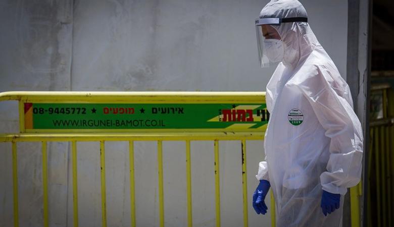 """""""اسرائيل """" : تسجيل 3 حالات وفاة و1391 اصابة جديدة بكورونا"""