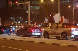 المنتخب القطري يصل الدوحة وحشود في استقباله للاحتفال