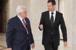 بشار الاسد للرئيس : سوريا تقف مع فلسطين ضد صفقة القرن