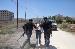 الشرطة تقبض على شخص حرق 500 دونم من الاراضي الحرجية شمال الخليل