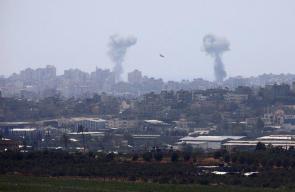 اسرائيل تقصف مواقع في غزة منذ صباح اليوم