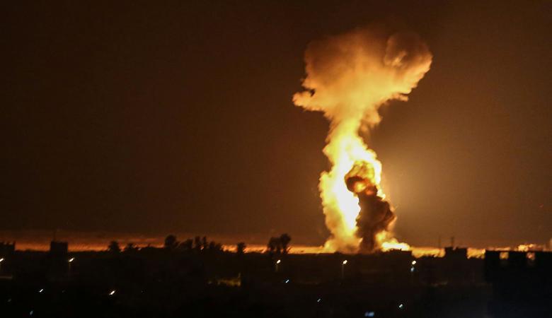 طيران الاحتلال يقصف مواقع في خانيونس جنوب غزة