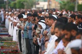 المفتي يعلن موعد اداء صلاة عيد الاضحى المبارك