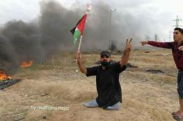 شهيدان برصاص الاحتلال احدهما مقعد  في مواجهات قطاع غزة