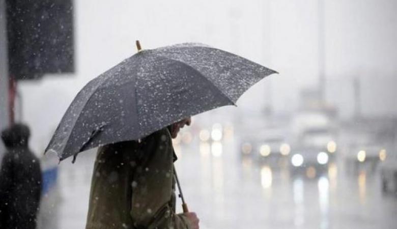 حالة الطقس: أجواء باردة إلى شديدة البرودة وسقوط أمطار