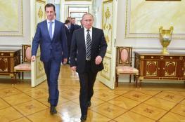 الاسد يشيد بالدعم الروسي ويصفه بأنه خفف من معاناة الشعب السوري