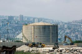 """خوفا من حزب الله ...اسرائيل تغلق خزانات الأمونيا في """"حيفا """""""