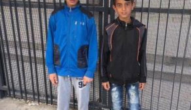 الاحتلال يقضي بحبس قاصرين من القدس منزليا وتغريمهما ماليا