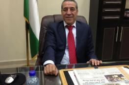 """حسين الشيخ : """" الحصار المالي يشتد لكننا سننتصر """""""