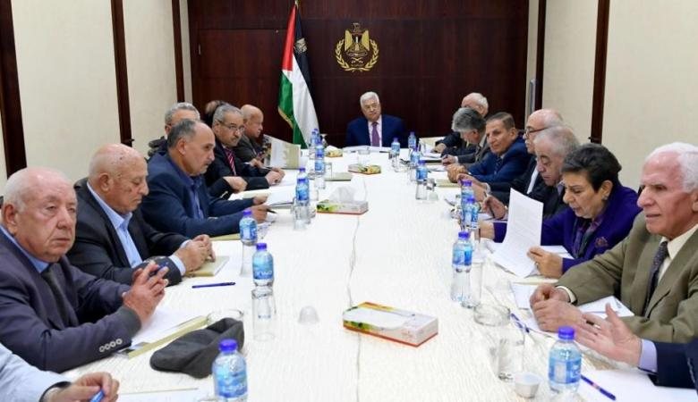 """اللجنة التنفيذية تجتمع الأربعاء في رام الله بشأن """"الضم"""""""