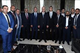 الحمد لله يدعو رجال الاعمال الفلسطينيين في تركيا الى الاستثمار في بلدهم