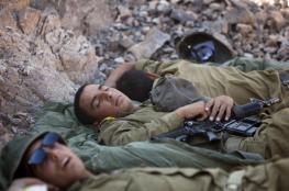 """""""النوم"""" كاد يقتل جنديًا إسرائيليًا خلال تدريبات لمواجهة غزة"""