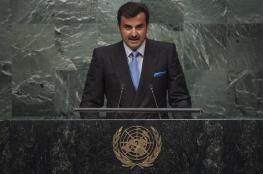 أمير قطر : الدول التي تحاصرنا تلحق ضررا بالحرب على الارهاب