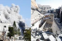 """اجتماع برام الله لاعادة بناء منزل عائلة """"ابو حميد """""""