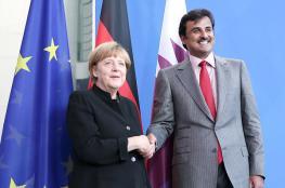 أمير قطر من المانيا  : كلنا نحارب الأرهاب