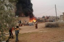 المعارضة السورية تسقط طائرة روسية وتقتل قائدها في ادلب