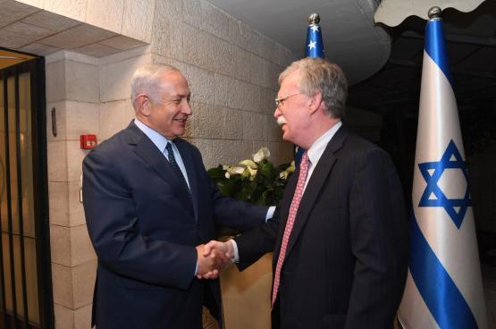 مستشار ترامب للامن القومي من القدس : انا صديق حميم لاسرائيل