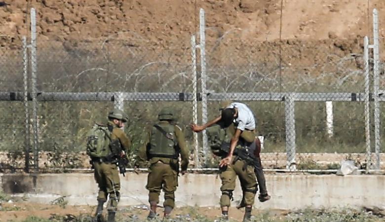 اعتقال 4 شبان خلال محاولتهم التسلل شمال غزة