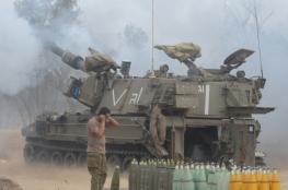 المدفعية الاسرائيلية تقصف هدفا شرق مدينة غزة ردا على عملية تسلل