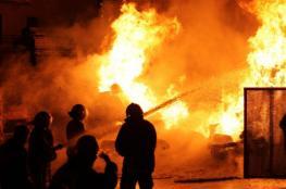 شاحن جوال يتسبب في حريق بطولكرم