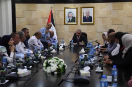 رئيس الوزراء يطلع على احتياجات قرى شمال غرب القدس
